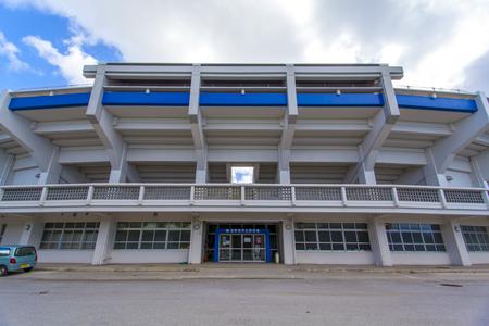 宜野湾市立野球場・外観正面(横):No.2066