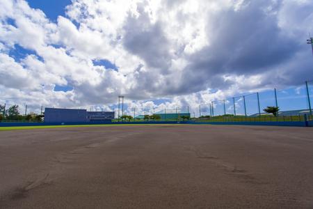 宜野湾市立野球場・グラウンド(横):No.2067