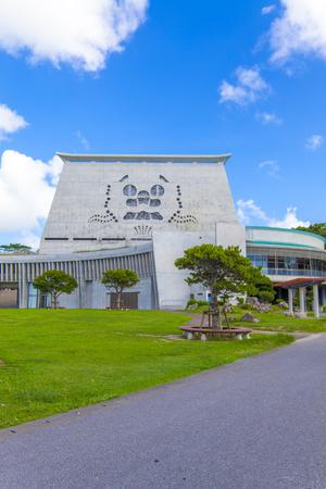 浦添市てだこホール・外観(縦):No.2075