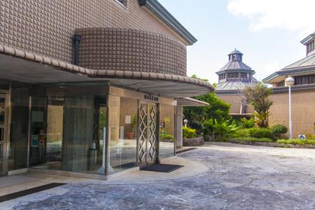 浦添市美術館・入口付近(横):No.2078