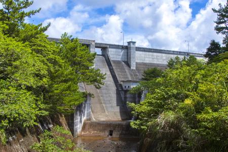 辺野喜ダム・洪水吐き(横):No.2265
