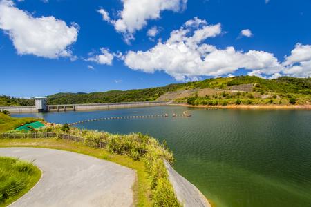大保ダム・ダム湖(横):No.2101
