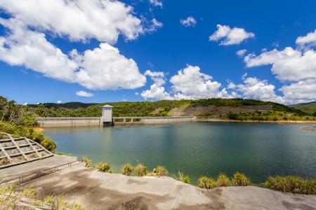 大保ダム・ダム湖(横):No.2107