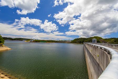 大保ダム・ダム湖(横):No.2111