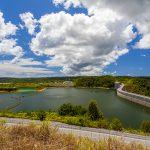 大保ダム・ダム湖(横):No.2113