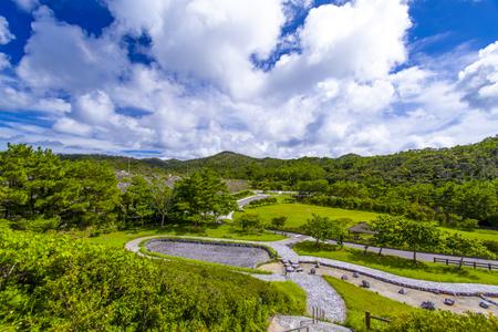 辺野喜ダム・親水広場&湖畔公園(横):No.2138