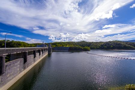安波ダム・ダム湖(横):No.2147