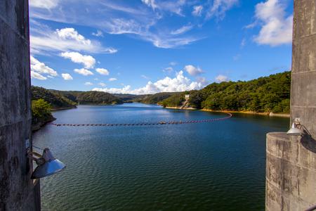 安波ダム・ダム湖(横):No.2148