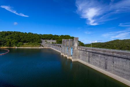 安波ダム・ダム湖(横):No.2151