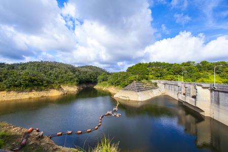 新川ダム・ダム湖(横):No.2160