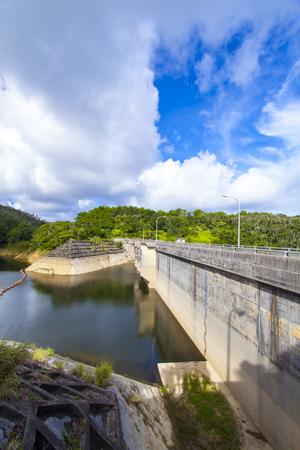 新川ダム・ダム湖(縦):No.2161