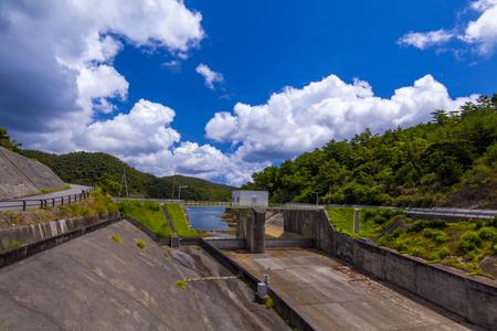 福地ダム・ドラムゲート(横):No.2184