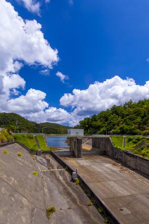 福地ダム・ドラムゲート(縦):No.2185