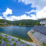 福地ダム・ダム湖(横):No.2191