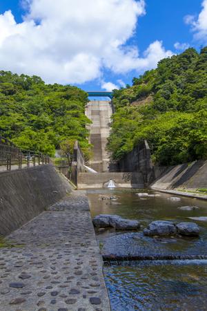 福地ダム・ダム下流(縦):No.2193