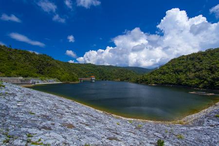 羽地ダム・ダム湖(横):No.2196