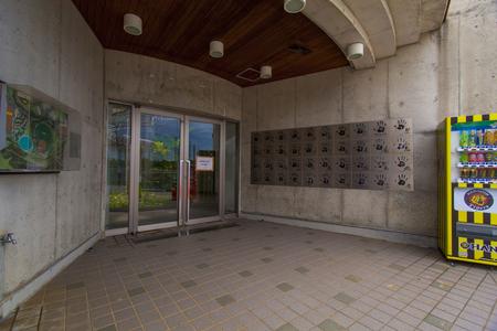 宜野座球場・入口付近(横):No.2212