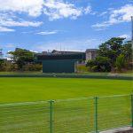 宜野座球場・グラウンド外野側(横):No.2218