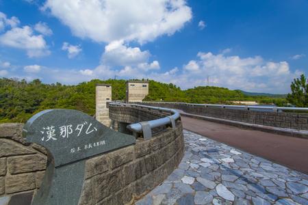 漢那ダム・通路出入り口付近(横):No.2228