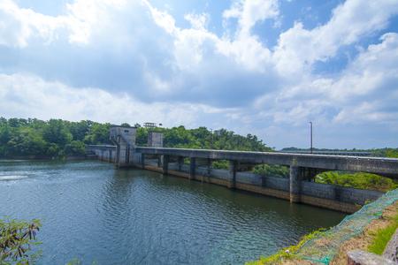 漢那ダム・ダム湖(横):No.2236