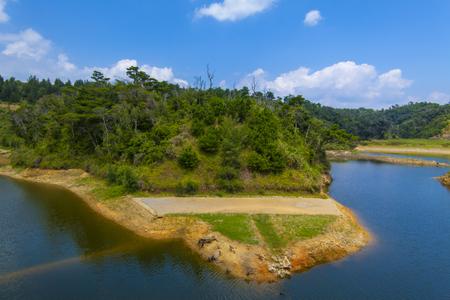 金武ダム・ダム湖(横):No.2248