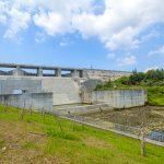 金武ダム・堤体下流側(横):No.2257