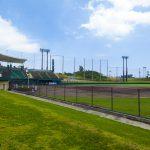金武町ベースボールスタジアム・外野席側(横):No.2261
