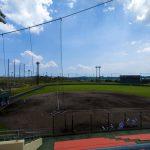 金武町ベースボールスタジアム・1塁側観覧席(横):No.2262