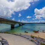 古宇利大橋と古宇利ビーチ(横):No.2329