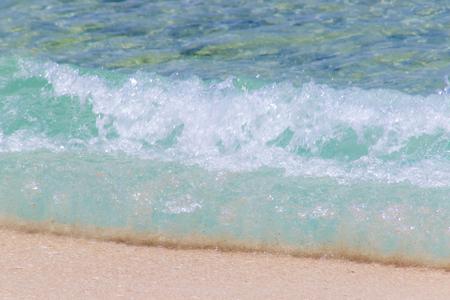波のイメージ(横):No.2416