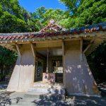 名護神社・拝殿(横):No.2542
