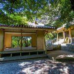 名護神社・拝殿と本殿(横):No.2543