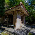 名護神社・拝殿(横):No.2544