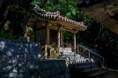 名護神社・本殿(横):No.2547