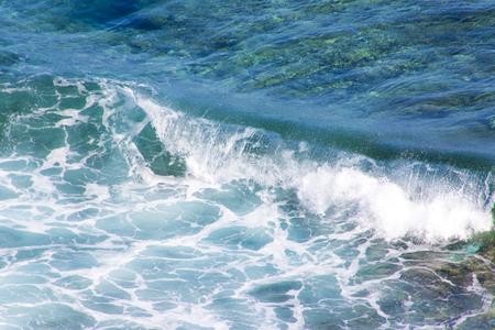 波のイメージ(横):No.2845