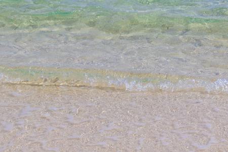 波のイメージ(横):No.2849