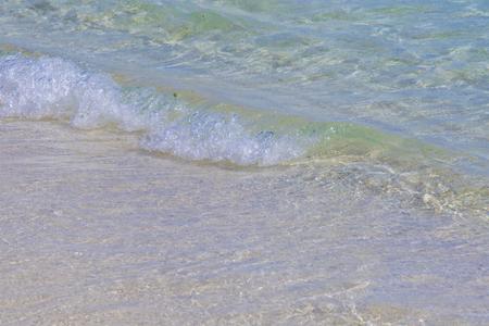 波のイメージ(横):No.2853