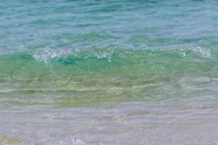 波のイメージ(横):No.2854