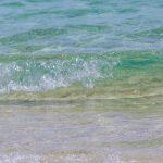 波のイメージ(横):No.2855