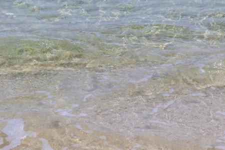 波のイメージ(横):No.2856