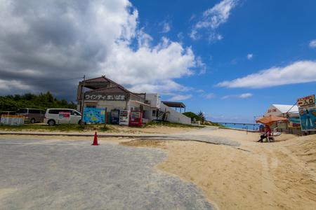 前浜ビーチ・入口付近(横):No.2779