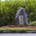 通り池・石碑(横):No.2965