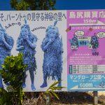 宮古島のパーントゥ・案内板(横):No.3136