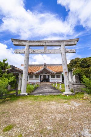 大主神社(大主御嶽)・外観(縦):No.3330