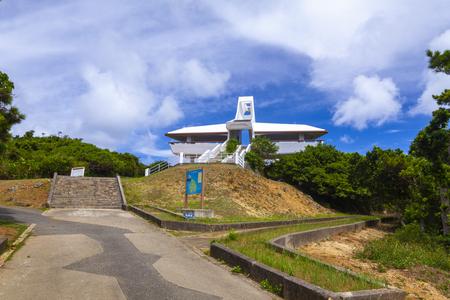 牧山展望台・外観(横):No.3334