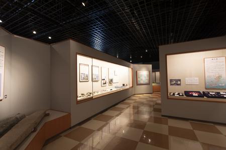 久米島博物館・館内(横):No.3425