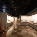 久米島博物館・館内(横):No.3427