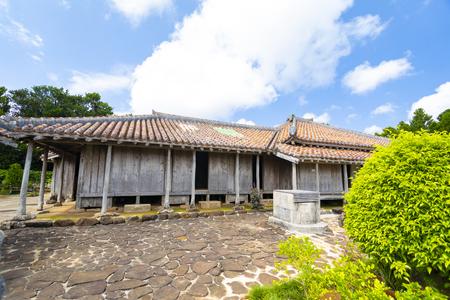 旧家上江洲家住宅・井戸(横):No.3487