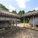 旧家上江洲家住宅と蔵(横):No.3488