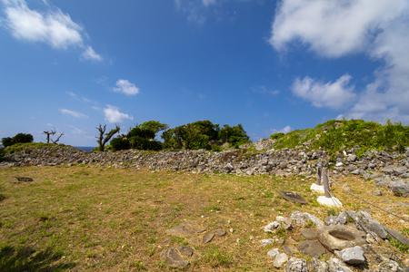 久米島・具志川城跡の風景(横):No.3462